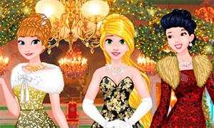 Игра: Рождественский бал Дисней Принцесс