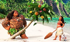 Рождество по версии Моаны и Мауи