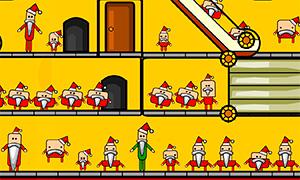 Новогодняя игра: Найди Санта Клауса