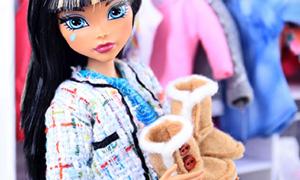 Поделки: Как сделать угги для куклы