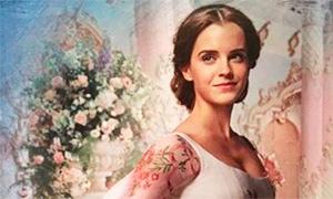 Теперь мы знаем как выглядит свадебное платье Белль в фильме