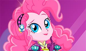 Игра Девочки из Эквестрии: Пинки Пай кристальное превращение