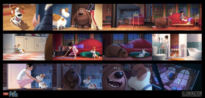 Животные из мультфильма тайная жизнь домашних животных картинки