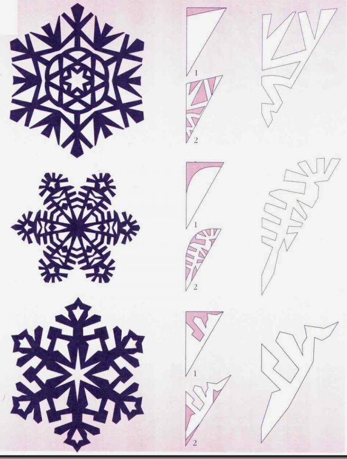 Новогодние снежинки своими руками легко