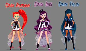 Лолирок: Темные принцессы - Талия и Ариана