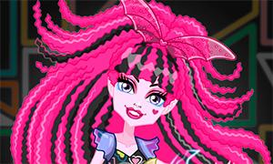 Игра для девочек: Дракулаура Electrified