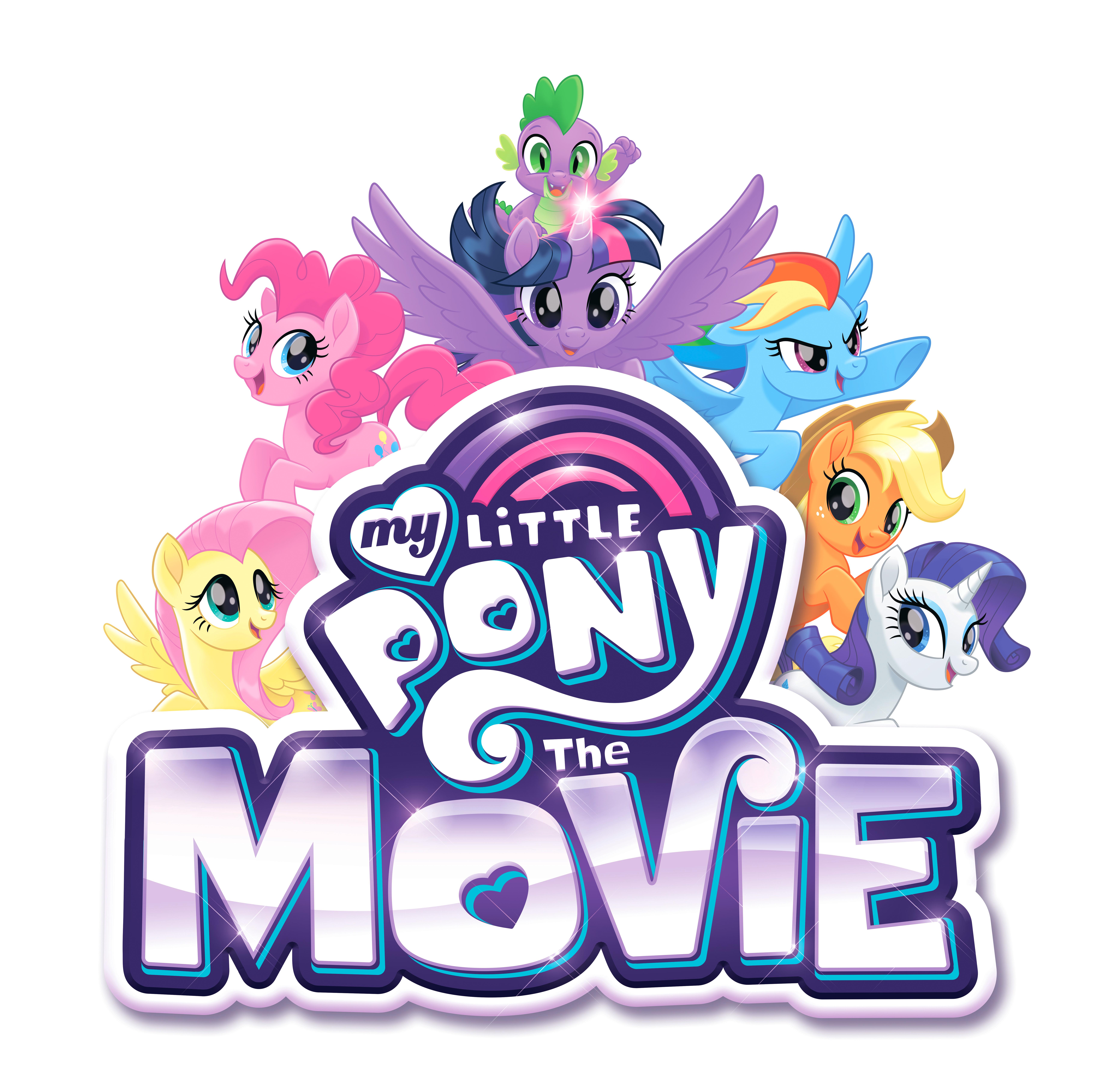 Полнометражный мультфильм My Little Pony: Логотип и новый ...