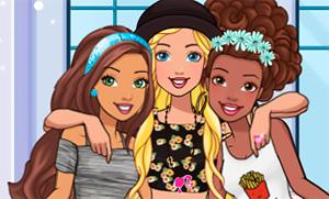 Игра для девочек: Подружки Барби