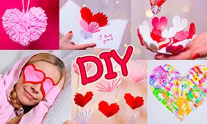 5 поделок на день Святого Валентина