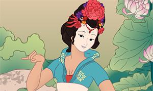 Игра: Мейкер китайской красавицы в Ханьфу
