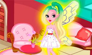 Игра для девочек: Дизайн домика фей