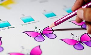 Рисование: Пять способов смешивать цветные карандаши