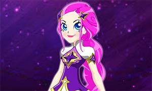 Игра Лолирок: Одевалка принцессы Кариссы