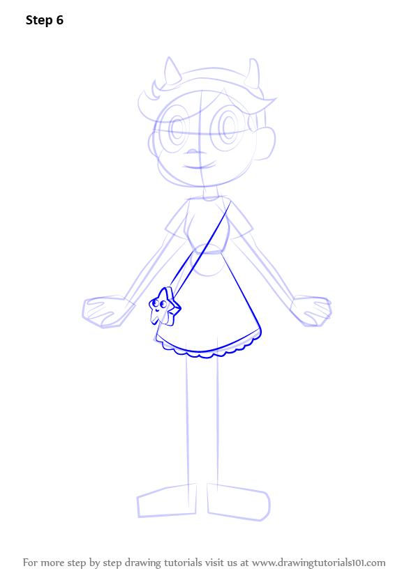 Звёздочка баттерфляй как нарисовать поэтапно карандашом