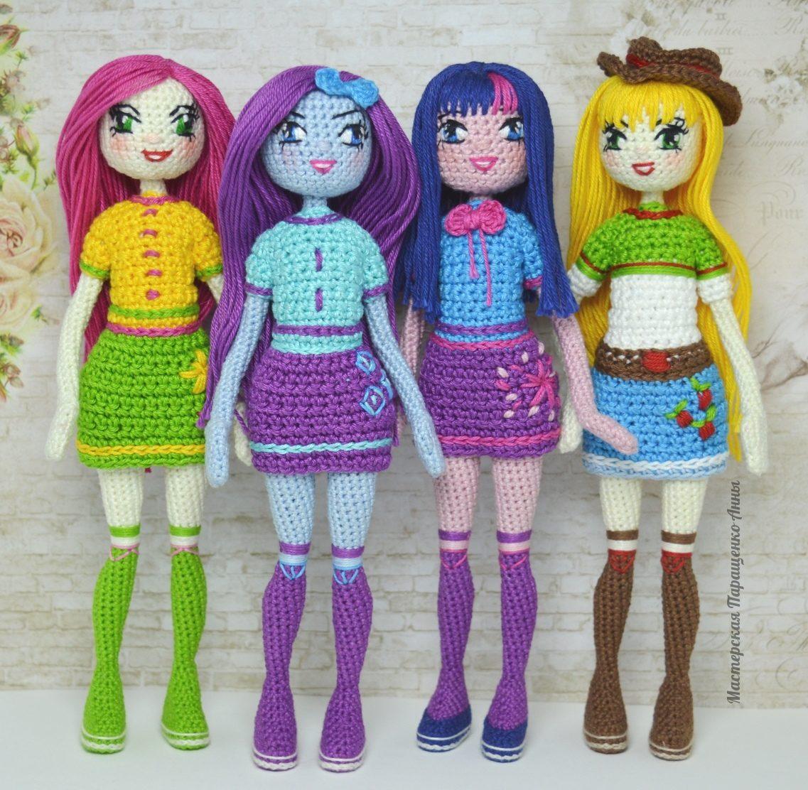 Картинка кукол которые вяжут