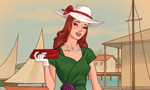 Игра для девочек: Мода 40-х годов