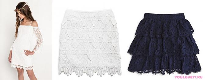 Мода 2017 юбки для девочек