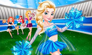 Игра для девочек: Дисней Принцессы в группе поддержки