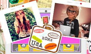 Игра для девочек: Блог Рапунцель о путешествиях