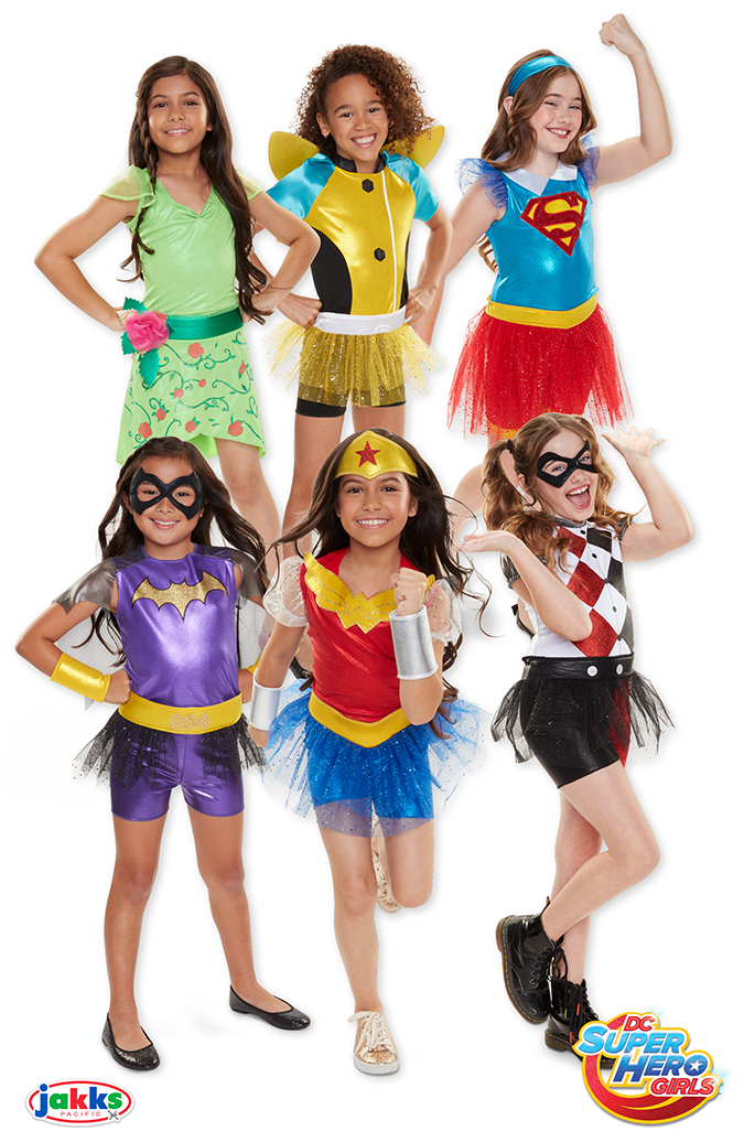Костюмы DC Super Hero Girls