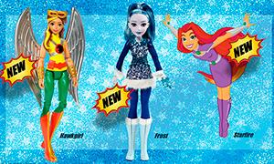 DC Super Hero Girls 2017: Огромные куклы, новые фигурки, наряды и другое
