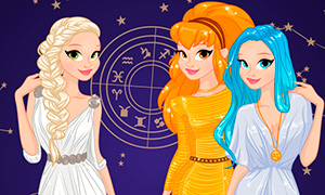 Игра для девочек: Счастливый наряд для твоего знака зодиака