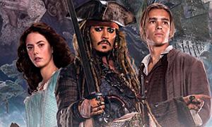 Пираты Карибского Моря 5: Новые картинки с главными героями