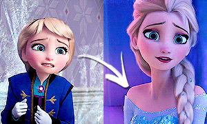 Современные Дисней Принцессы: В детстве и сейчас
