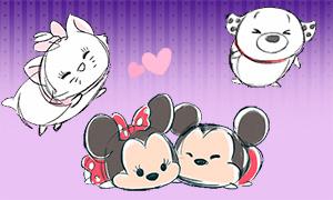 Милые анимации Дисней Tsum Tsum