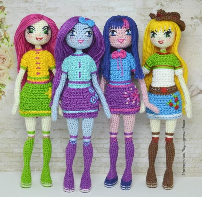 Картинки связанных кукол