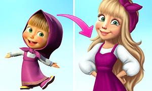 Как бы выглядели повзрослевшие герои мультфильмов