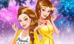 Игра для девочек: Как стать современной принцессой с Белль