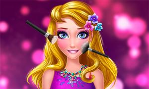 Игра для девочек: Макияж современной принцессы