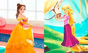 Дисней Принцессы: Новые картинки - аватарки
