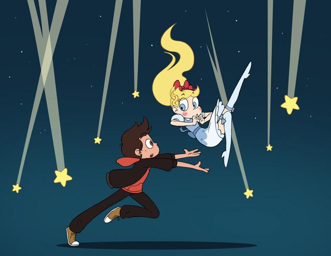 Звездная Принцесса: Падающая звезда