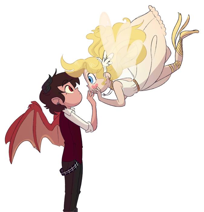 Звёздочка и Марко - ангел и демон