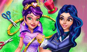 Игра для девочек: Иви шьет наряды для Мэл
