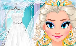 Игра Холодное Сердце: Большая подготовка к свадьбе Эльзы
