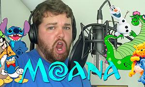 Герои Дисней и Пиксар поют песни из мультфильма