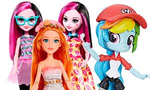 Новинки кукол: Дракулаура Lots of Looks, новые MC2, Девочки Эквестрии