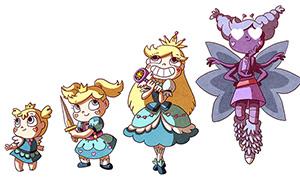 Звездная Принцесса: Эволюция Звёздочки Баттерфляй