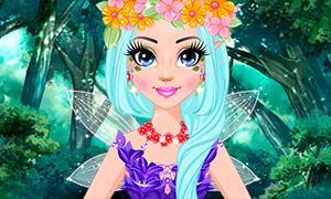 Игра для девочек: Макияж феи весны