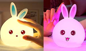 Самый милый светильник: Ночник в форме зайчика