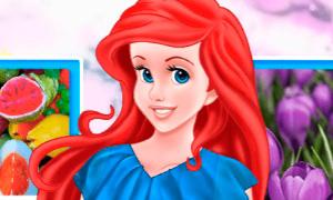 Игра: Ариэль и весенняя цветовая палитра