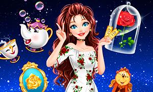 Игра для девочек: Фанатка Красавицы и Чудовища