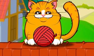 Игра: Игривый котенок