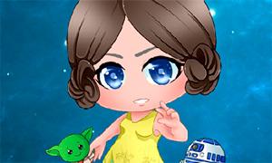 Игра Звездные Войны: Мейкер чиби персонажей