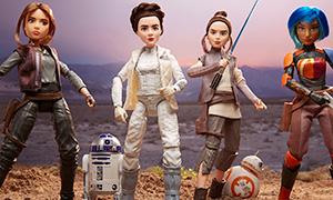 Куклы по Звёздным Войнам - Star Wars Forces of Destiny