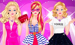 Игра Барби:  Супер модель на модном показе