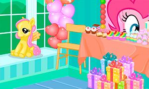 Игра для девочек: День рождения в стиле пони